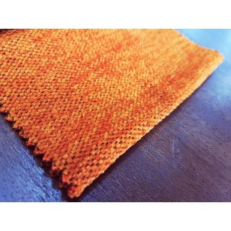 Chenilla Terciopelo doble cara N.11 Naranja Tostado