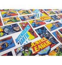 Algodón Justice League